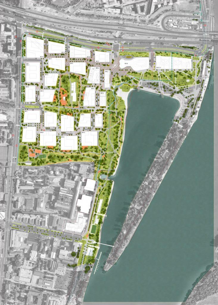 Építőipari projektszervezés, Infrastruktúra, BudaPart-előkészítés