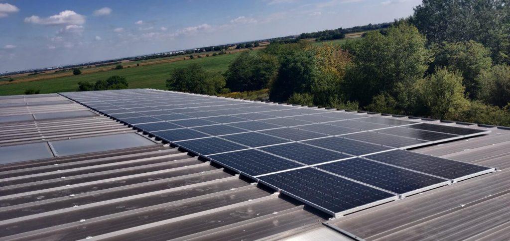 napelem, Ipari csarnok-Tököl-30 kWp (1)