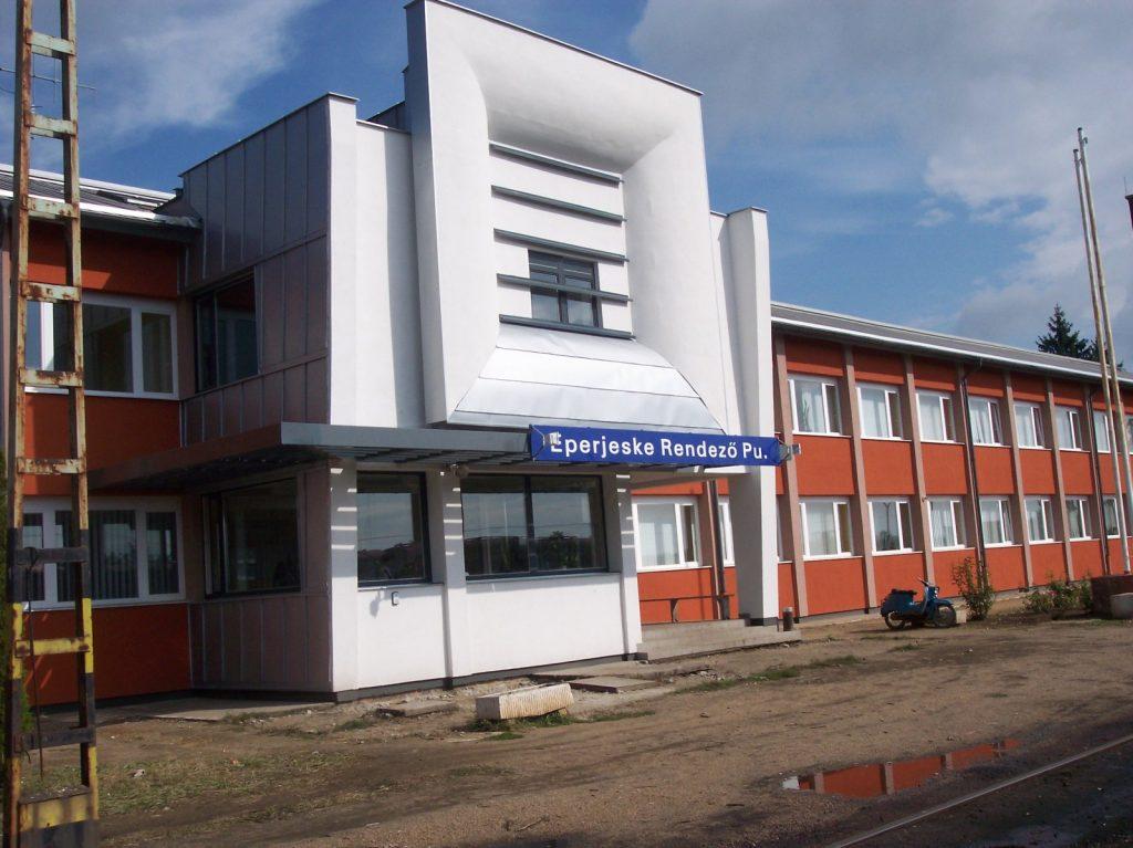 Építőipari projektszervezés, MÁV Felvételi épület, Eperjeske, lebonyolítás