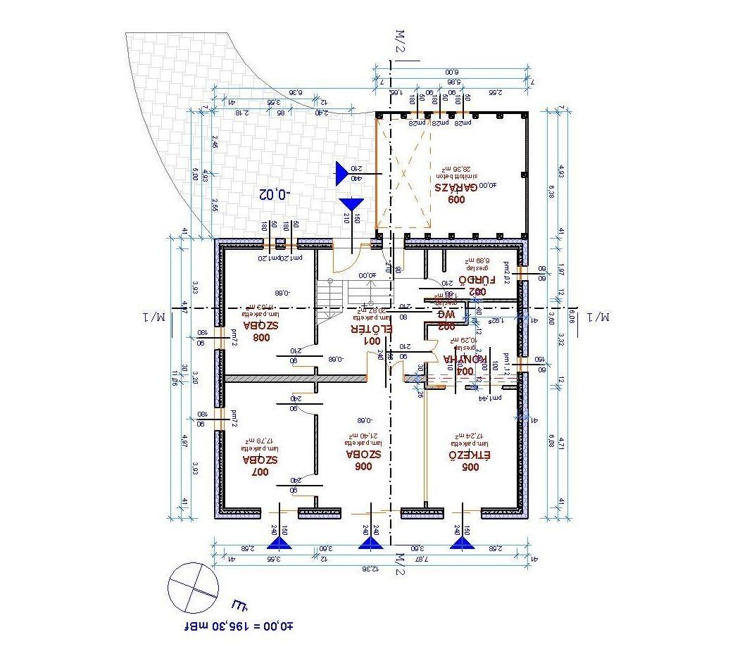 Építőipari tervezés, Passzív ház, Gödöllő, engedélyezési és kiviteli tervek
